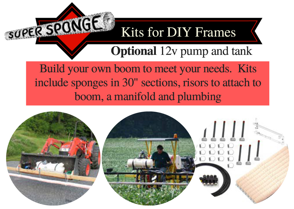 Super Sponge Weed Wipers - Build Your Own Kits