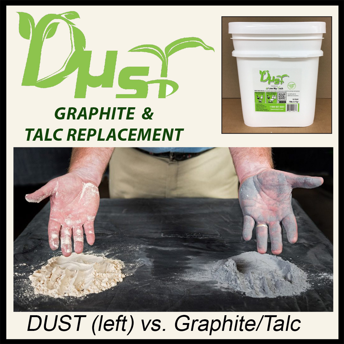 DUST - Seed and Mechanical Lubricant