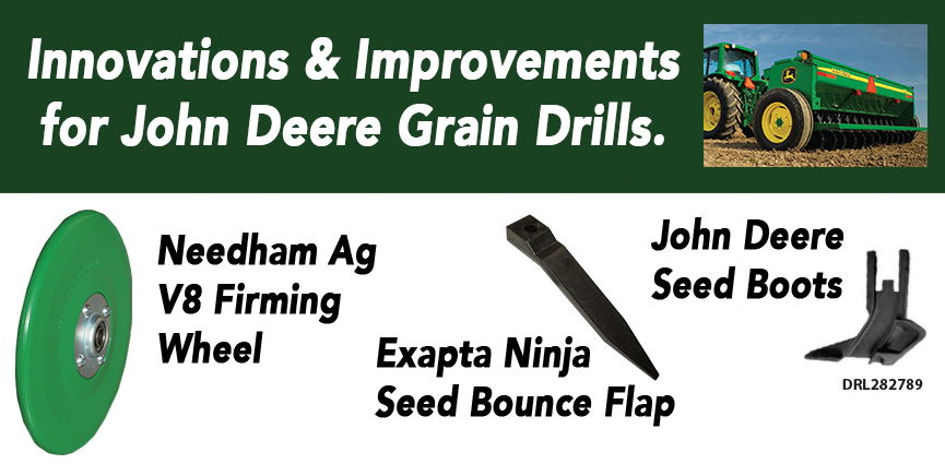 John Deere Drill Improvements