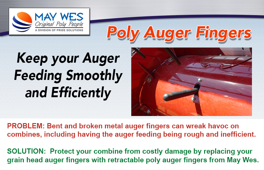 S I  Distributing Inc : May Wes Poly Auger Fingers Available