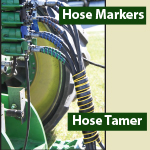 Outback Wrap Hydraulic Hose Markers and Hose Tamers