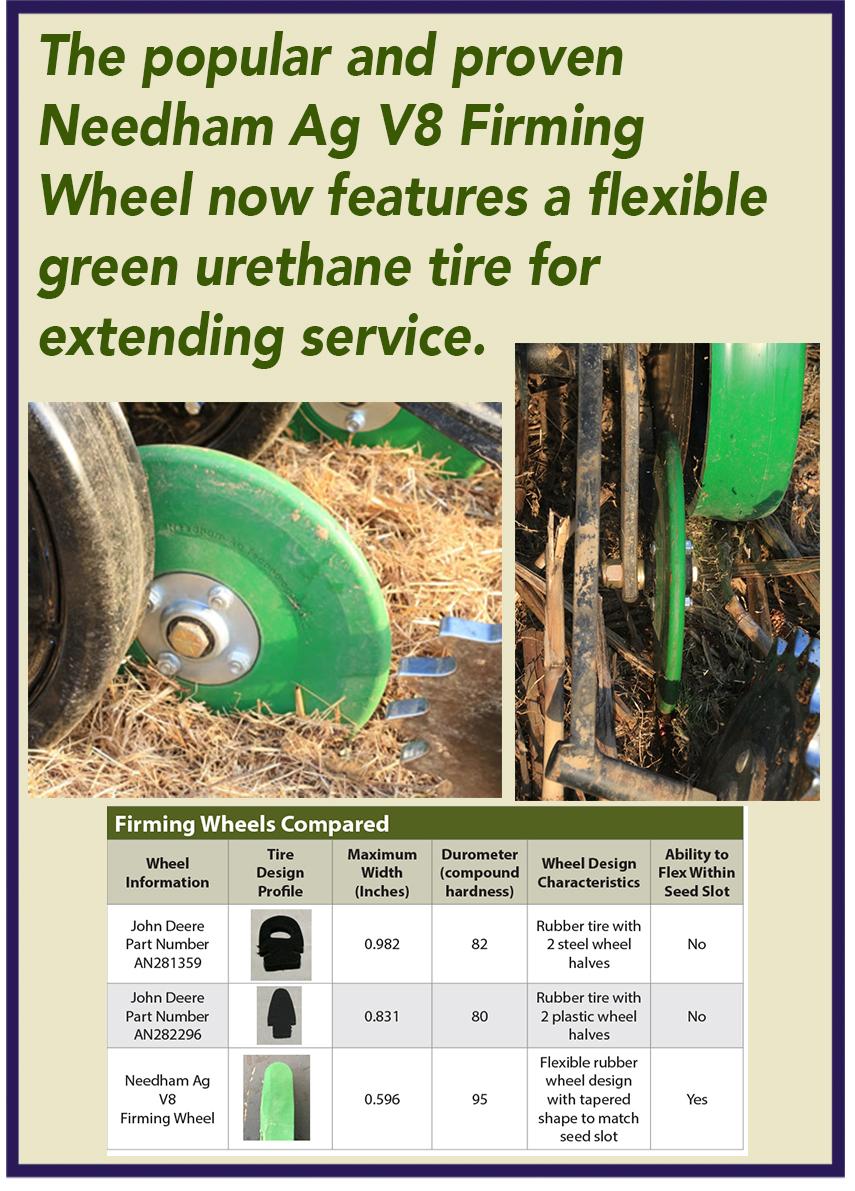 S I  Distributing Inc : Needham Ag V8 Firming Wheel
