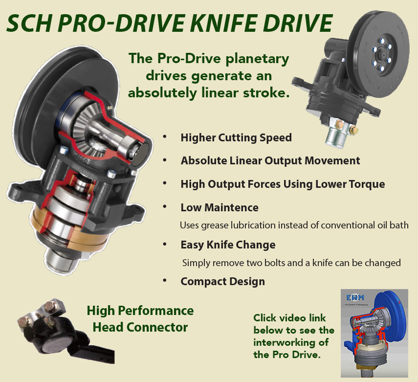 S I  Distributing Inc : SCH Pro Drive Knife Drive - HIGH