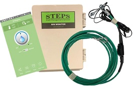 STEPS BIN MONITOR, 24' CABLE