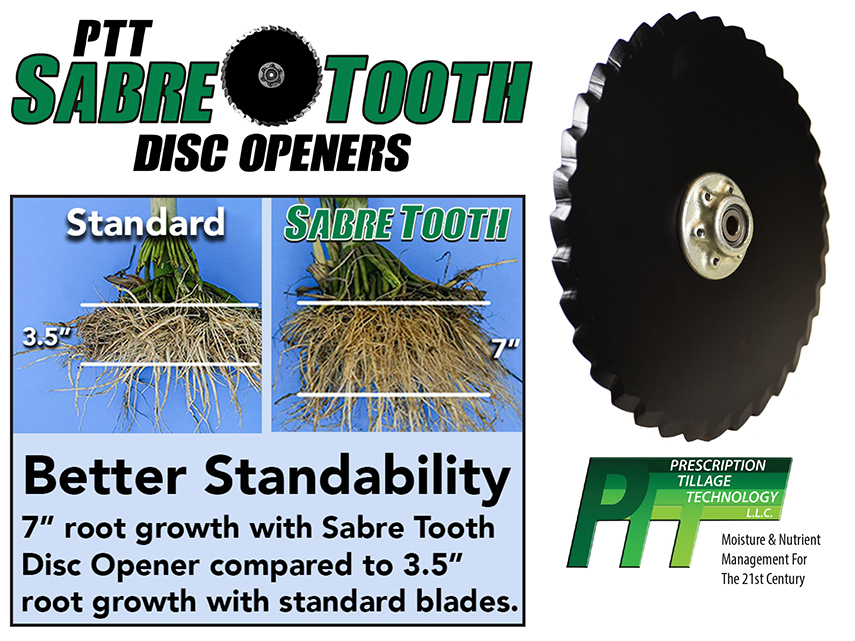 S I Distributing Inc Ptt Sabre Tooth Planter Disc Opener
